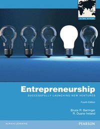 Entrepreneurship: Successfully Launching New Ventures Global Edition (e-bok)