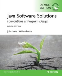 Java Software Solutions, Global Edition ()