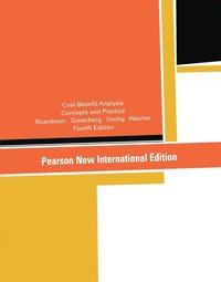 Cost-Benefit Analysis: Pearson New International Edition (h�ftad)