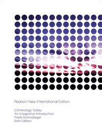 Criminology Today: Pearson New International Edition (h�ftad)