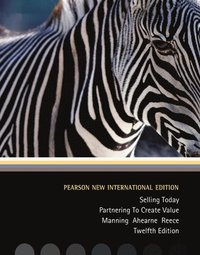 Selling Today: Pearson New International Edition (h�ftad)