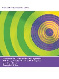 Introduction to Materials Management: Pearson New International Edition (e-bok)