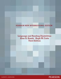 Language and Reading Disabilities: Pearson New International Edition