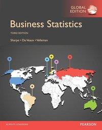 Business Statistics, Global Edition (häftad)