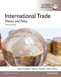 International Trade: Theory and Policy with MyEconLab, Global Edition (inbunden)
