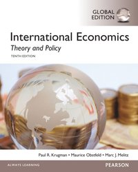 International Economics: Theory and Policy, Global Edition (e-bok)