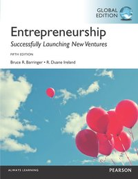 Entrepreneurship, Global Edition (e-bok)