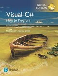 Visual C# How to Program, Global Edition
