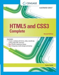 HTML5 and CSS3, Illustrated Complete (h�ftad)