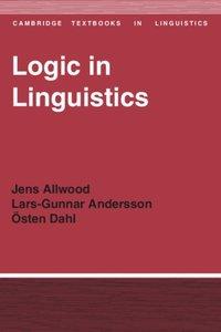 Logic in Linguistics (pocket)