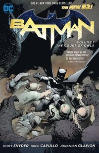 Batman: Volume 1 The Court of Owls (The New 52) (h�ftad)