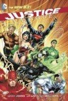 Justice League: Volume 1 Origin (h�ftad)