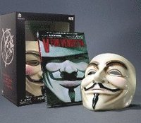V for Vendetta Book and Mask Set (h�ftad)