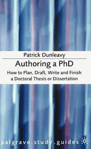 Authoring a PhD (inbunden)