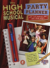 Disney 'High School Musical' Activity Book Party Planner (h�ftad)