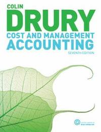 Cost And Management Accounting (h�ftad)