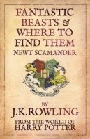 Fantastic Beasts and Where to Find Them (kartonnage)