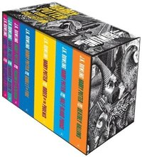 Harry Potter 7 Books Box Set (Adult Paperback) (pocket)