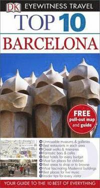 DK Eyewitness Top 10 Travel Guide: Barcelona, 12th Edition (h�ftad)