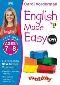 English Made Easy Ages 7-8 Key Stage 2: Ages 7-8, Key stage 2 (h�ftad)