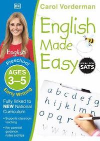 English Made Easy Early Writing Preschool Ages 3-5: Ages 3-5 preschool