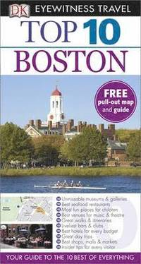 DK Eyewitness Top 10 Travel Guide: Boston (h�ftad)
