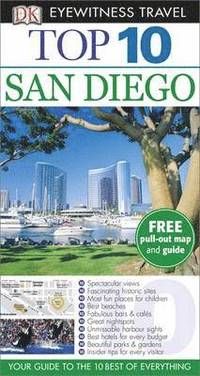 DK Eyewitness Top 10 Travel Guide: San Diego (h�ftad)