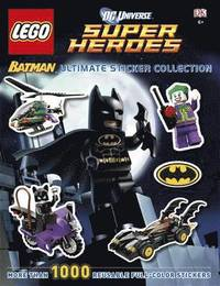 LEGO Batman Ultimate Sticker Collection (h�ftad)