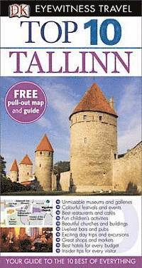 DK Eyewitness Top 10 Travel Guide: Tallinn (e-bok)