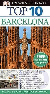 DK Eyewitness Top 10 Travel Guide: Barcelona 11th Edition (e-bok)