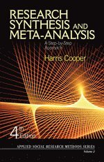 Research Synthesis and Meta-Analysis (h�ftad)