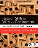 Research Skills for Policy and Development (h�ftad)