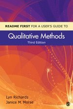 README FIRST for a User's Guide to Qualitative Methods (h�ftad)