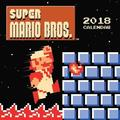 Super Mario Bros. 2018 Wall Calendar (Retro Art): Art from the Original Game