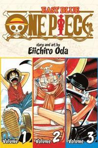 One Piece: East Blue 1-2-3: 1 3-in-1 Edition (pocket)