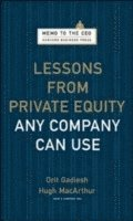 Lessons from Private Equity Any Company Can Use (inbunden)