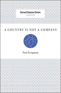 A Country Is Not a Company (inbunden)