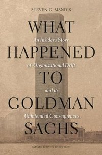 What Happened to Goldman Sachs (inbunden)