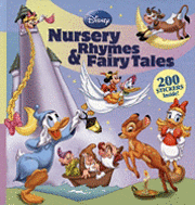 Disney Nursery Rhymes & Fairy Tales [With 200 Stickers] (inbunden)