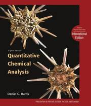 Quantitative Chemical Analysis (inbunden)