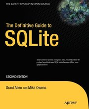The Definitive Guide to SQLite (h�ftad)