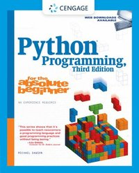 Python Programming for the Absolute Beginner 3rd Edition (h�ftad)