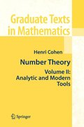 Number Theory: Volume II Analytic and Modern Tools