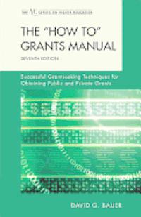 The 'How to' Grants Manual (inbunden)