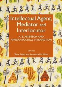 Intellectual Agent, Mediator and Interlocutor (inbunden)
