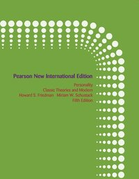 Personality:Classic Theories and Modern Research Pearson New International Edition, plus MyPyschKit without eText (h�ftad)