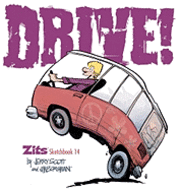 Drive!: Zits Sketchbook No. 14 (inbunden)