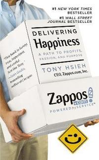 Delivering Happiness (h�ftad)