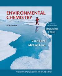 Environmental Chemistry (inbunden)
