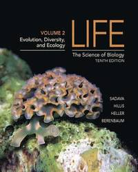 Life: The Science of Biology: Volume II Evolution, Diversity and Ecology (h�ftad)